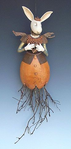Wall Gourd Rabbit copyright 2003 Akira Studios all rights reserved