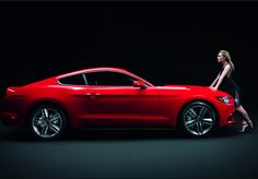WOW! Sienna Miller works her magic with the new 2015 Ford #Mustang. Hit the pic to see the #nsfw video!