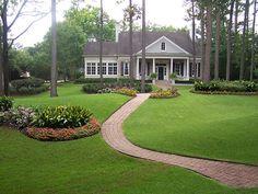 new garden ideas photos | New home designs latest.: Home garden lawn ideas.