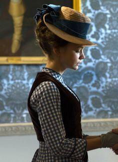 Carey Mulligan as Bathsheba Everdene in Far From the Madding Crowd (2015).