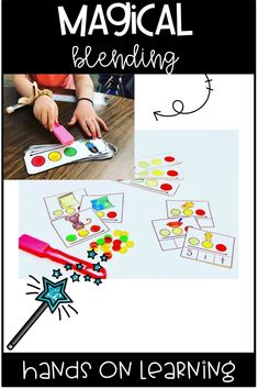 "Are you looking for a fun hands on way for your students to practice blending and segmenting? You'll love these low prep ""magical"" blending activities! Click here to see more!"
