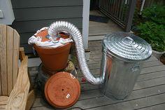 DIY:Trash Can Cold Smoker