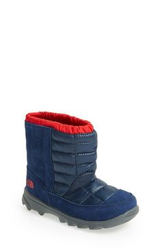The North Face 'Winter Camp' Waterproof Snow Boot (Walker & Toddler) available at #Nordstrom