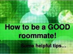 Good tips to share with incoming freshmen or during house move in