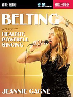 Belting - My Library | Hal Leonard Online