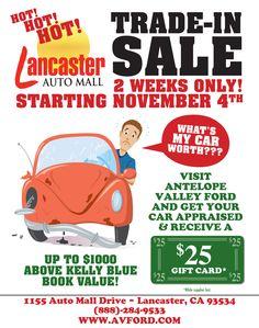 Lancaster Auto mall Trade-In Sale