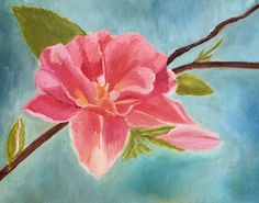 Print of my Original Oil Painting Spring Blossom by DigiDoodleShop, $15.00