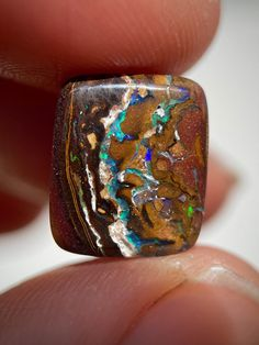 Signature Opal - Boulder Opal from Queensland, Australia SHOP; www.etsy.com/shop/SignatureOpal Australian Opal, Bouldering, Etsy Seller, Rings For Men, Queensland Australia, Jewelry, Shop, Men Rings, Jewlery