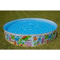 Intex 8 Snap Set Pool - Ocean Reef alternate i - 90s Childhood, My Childhood Memories, Best Memories, Summer Memories, Retro Toys, Vintage Toys, Kiddie Pool, 80s Kids, Kids Toys