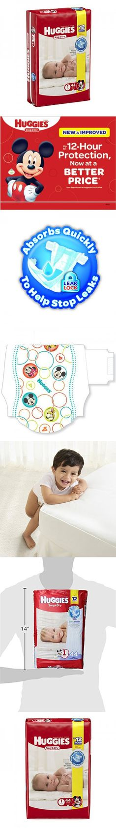 Pampers Swaddlers Overnights Diapers Size 4, 62 Count - EBLK ...