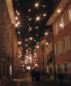 Christmas Lights, Baden | Tensile Design & Construct