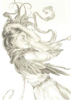 Illustrations by Ed Org Drawing Sketches, Art Drawings, Fantastic Art, Beautiful Artwork, Figurative Art, New Art, Sculpture Art, Art Inspo, Illustrators