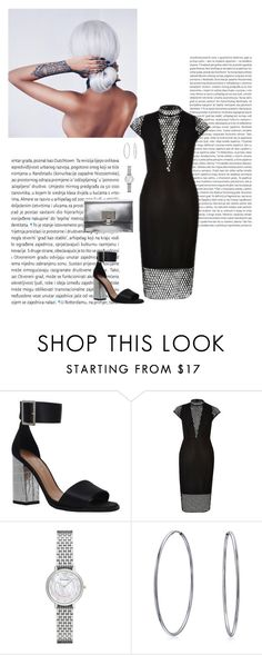 """Untitled #357"" by hayleyl22 ❤ liked on Polyvore featuring Oris, Carvela, Emporio Armani, Bling Jewelry and Proenza Schouler"