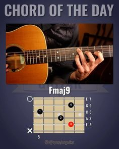 Music Chords, Guitar Chords, Acoustic Guitar, Music Theory Lessons, Guitar Lessons, Diatonic Scale, Guitar Chord Progressions, Guitar Pins, Cool Electric Guitars