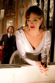 Elise: I'm sorry I got you involved in all this. Frank: Why are you involved? (The Tourist)