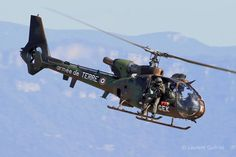 French Army Aviation (ALAT) SA342 Gazelle helicopter, Photo : Laurent Quérité