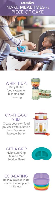 Make mealtime manageable and shop now for items serving smart solutions for feeding your little kiddo. Whip up your own nutritious baby food, then store it in great-for-on-the-go squeeze packets. Tending to a toddler? Try out tablewear designed to keep fo Wishes For Baby, Baby Shower Gender Reveal, Baby Milestones, Girls Life, Foster Parenting, Organic Baby, Baby Accessories, Baby Food Recipes, Kids Meals