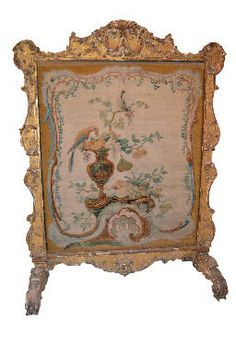 french fire screen | 18th Century French Fire Screen