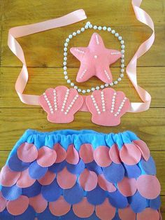 Kids Birthday Themes, Diy Birthday Decorations, Mermaid Costume Kids, Mermaid Tail Pattern, Sea Costume, Bookmarks Kids, Baby Girl Photography, Toddler Halloween Costumes, Dress Up Outfits