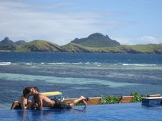Amunuca Island Resort, Fiji - our first day as Mr and Mrs x