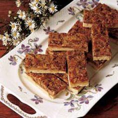 Pecan Pie Bars from Taste of Home @Darcie Dawson