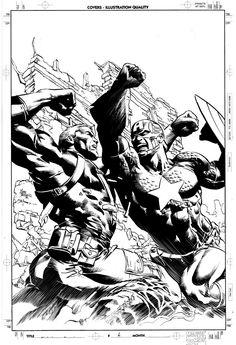 Secret Avengers 12: Cover Art by MikeDeodatoJr.deviantart.com on @deviantART