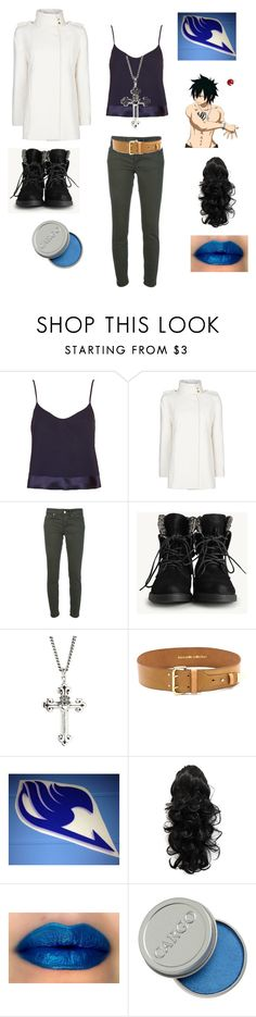 """""""Gray Fullbuster: Fairy Tail"""" by angle12345 ❤ liked on Polyvore featuring Topshop, MANGO, Dondup, King Baby Studio, Linea Pelle and CARGO"""