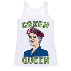 If you stand for environmentalism, social justice, gender and lgbt equality or pretty much all that is good in the world. Stand with Jill Stein in her race for the 2016 U.S. Presidency! Show your support for the green party queen Jill Stein with this cute and political, Green party, Jill Stein shirt!