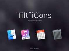 Tilt Icons for macOS Sierra