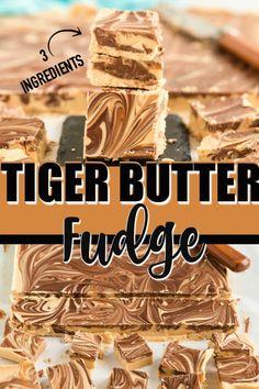 Peanut Butter White Chocolate, White Chocolate Fudge, Peanut Butter Candy, Peanut Butter Recipes, Fudge Recipes, Candy Recipes, Sweet Recipes, Easy Peanut Butter Fudge, Peanut Butter Truffles
