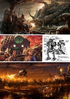 Steampunk Art: 11 Steam Powered Character