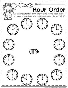 Looking for fun math centers and time and money worksheets? This set is filled with hands-on math activities to practice coin recognition, value of money and telling time. Money Worksheets, Printable Math Worksheets, School Worksheets, Worksheets For Kids, Subtraction Activities, Kindergarten Math Activities, Maths, Telling Time Games, Library Lessons
