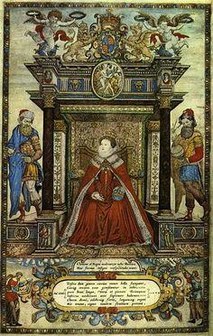 Elizabeth I Saxton Atlas 1579