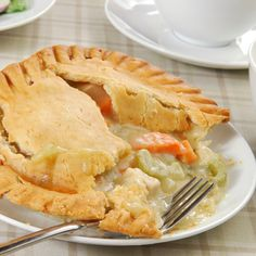 This is a real treat and is wonderful to prepare if you have leftover chicken or turkey meat that you would like to make another yummy meal from.. Delicious Chicken Pot Pie Recipe from Grandmothers Kitchen.
