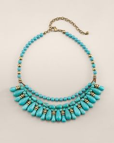 Cami Short Turquoise Necklace
