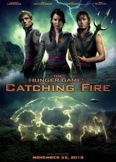 The Hunger Games - Catching Fire } Jennifer Lawrence - Josh Hutcherson - Sam Claflin } Katniss Everdeen - Peeta Mellark - Finnick O'Dair