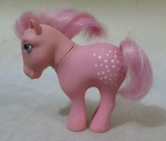 Vintage Cotton Candy. My Little pony.G1.Hasbro.BASA.1982.