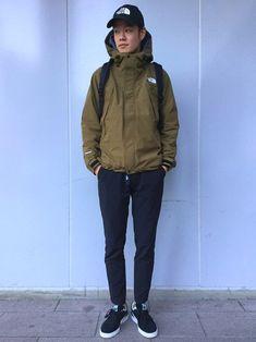 オールマウンテンジャケットの新色、ミリタリーオリーブ!!! タウンユースにぴったりで細身のパンツに�