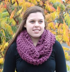 Chunky Wool Blend Ivy Infinity Scarf Fig by BeehiveCreation Chunky Infinity Scarves, Orange Scarf, Knit Pillow, Chunky Wool, Circle Scarf, Custom Items, Beanie Hats, Wool Blend, Cowl
