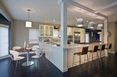 contemporary kitchen by Jessica Risko Smith Interior Design