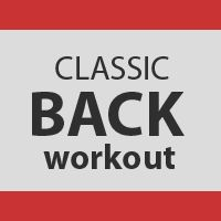 Classic Back Workout