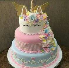 24 ideas of best birthday cake Unicorn for girls read-it-later Beautiful Cakes, Amazing Cakes, Unicorn Birthday Parties, Birthday Cake, Birthday Ideas, Happy Birthday, Unicorn Foods, Unicorn Cakes, Cakes Today