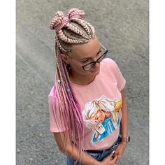 Sporty Hairstyles, Pretty Hairstyles, Girl Hairstyles, Braided Hairstyles, Rave Hair, Rainbow Braids, Colored Braids, Hair Upstyles, Baby Girl Hair