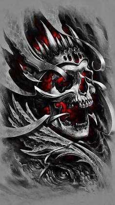 60 Awesome Tattoo Designs Men Sleeve Dragon 112 Half Sleeve Tattoos for Men and Women Dragon Tattoo Bazza Ghost Rider Wallpaper, Graffiti Wallpaper, Skull Wallpaper, Marvel Wallpaper, Skull Tattoo Design, Skull Tattoos, Sleeve Tattoos, Tattoo Designs, Tatoos