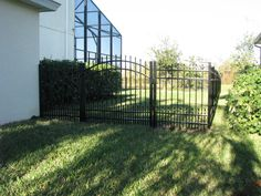 Style options for aluminum fencing are endless! Plus, with Mossy Oak Fence, you can custom design any aluminum fence style you'd like. If you can dream it, we can build it! View our aluminum fence pictures below and ask us about the many customization options we offer. We look forward to hearing about your project! Fence Styles, Aluminum Fence, Mossy Oak, Fence Design, Fencing, Custom Design, Outdoor Structures, Building, Outdoor Decor