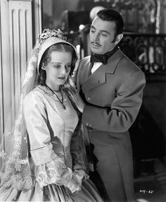"Bette Davis, George Brent in ""The Old Maid"" (1939)"