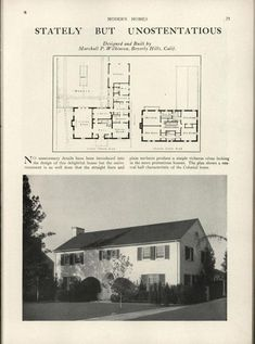 Modern homes: their design and construction by American Builder Publishing Corp.  Published 1931  272 p. ; ill., plans ; 30 cm. ; book