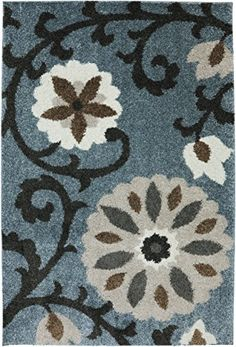 Home Decorators Collection | Mohawk Home Augusta Hazelhurst  Woven Rug 10x14 Abyss Blue -- You can find out more details at the link of the image. Note:It is Affiliate Link to Amazon. #likes4likes