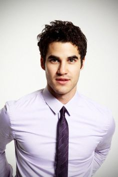Meet Darren Criss. I knew of him from A Very Potter Musical on Youtube, way before he was on Glee.