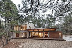 Architecture // Studio house by Grade, Virginia Beach, Virginia Residential Architecture, Amazing Architecture, Interior Architecture, Architecture Company, Interior Modern, Futuristic Architecture, Studio House, Design Exterior, Forest House